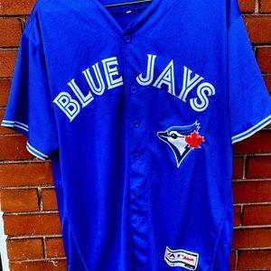 Blue Jays Majestic Sanchez jersey size 44